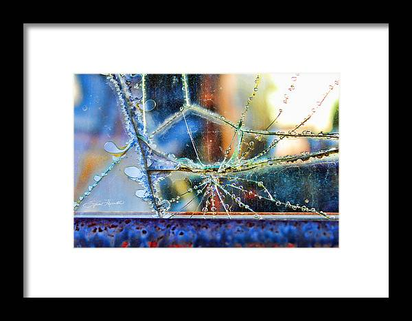 Abstract Art Framed Print featuring the photograph Beautifully Broken by Sylvia Thornton