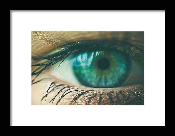 Eyes Framed Print featuring the photograph Beauty by Chance Beaver