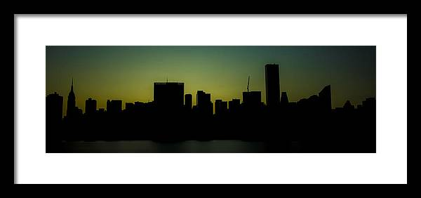 Citicorp Framed Print featuring the photograph Beauty Of The Night by Theodore Jones