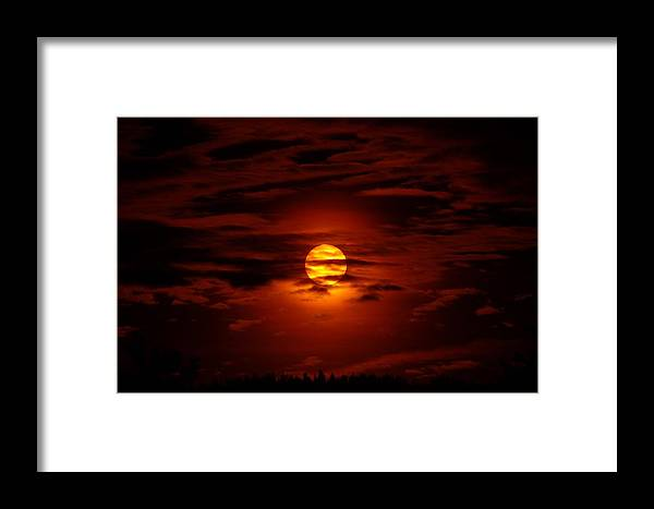 Sun Framed Print featuring the photograph Beauty Of The Sun And Clouds by Jeff Swan