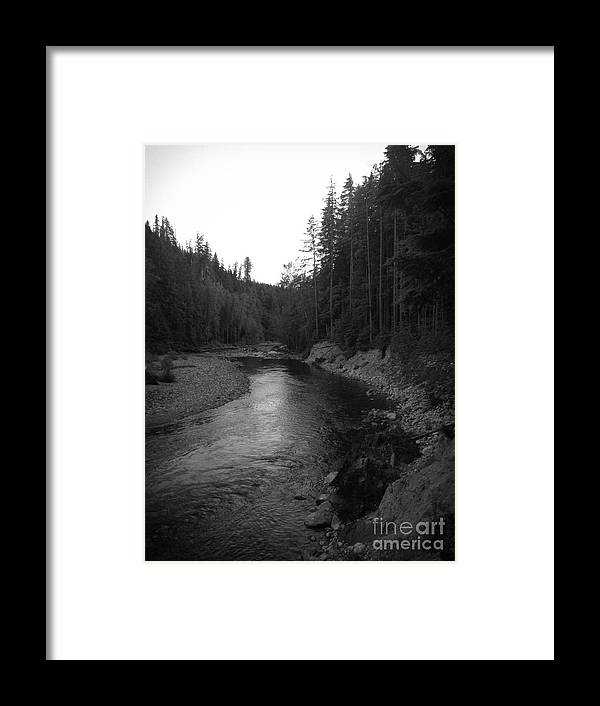 Nature Framed Print featuring the photograph Beauty On The River by Jenn Munson