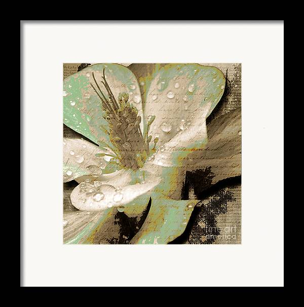 Framed Print featuring the mixed media Beauty Vi by Yanni Theodorou