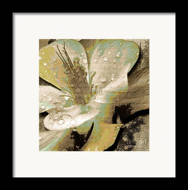Framed Print featuring the mixed media Beauty Vii by Yanni Theodorou