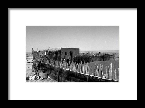 Bedouin Camp Framed Print featuring the photograph Bedouin Camp by James Bryant