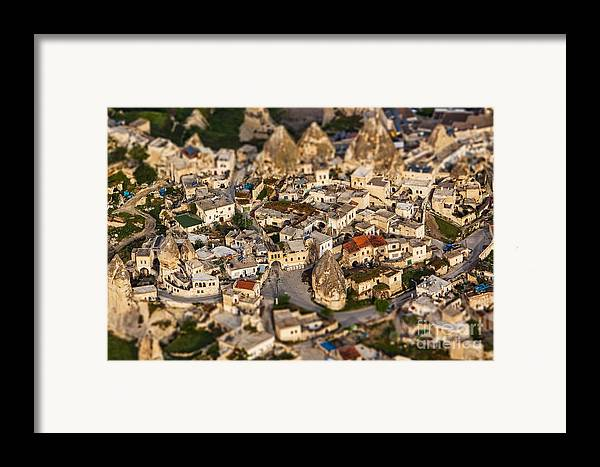 Miniature Framed Print featuring the photograph Bedrock by Andrew Paranavitana