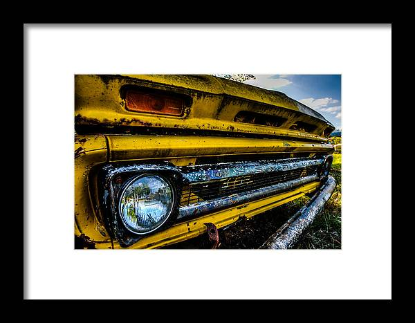 Old. Bumper Framed Print featuring the photograph Been Places by Jerad Roberts
