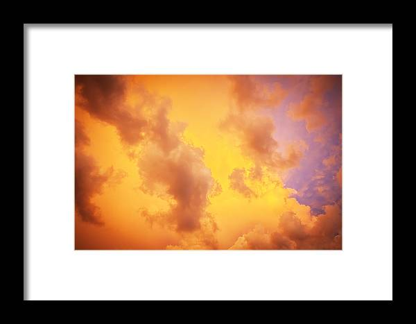 Clouds Framed Print featuring the photograph Before The Storm Clouds Stratocumulus 10 by Rich Franco