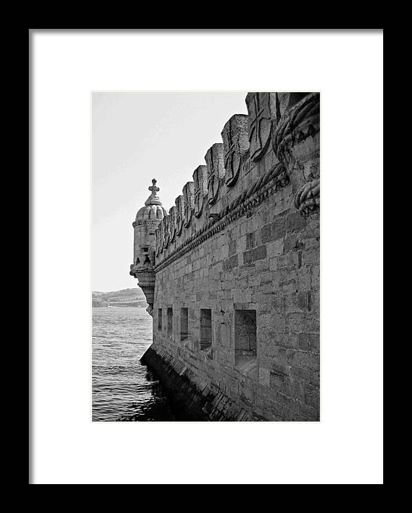 Belem Framed Print featuring the photograph Belem Tower by Todd Hartzo
