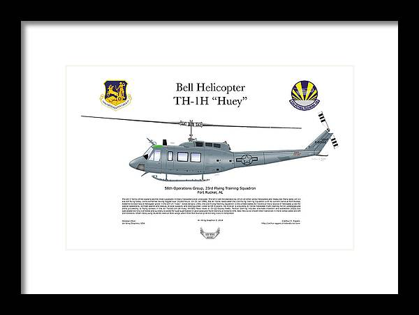 Bell Helicopter TH-1H Huey by Arthur Eggers