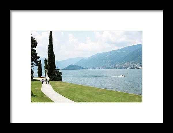 Tranquility Framed Print featuring the photograph Bellagio, Lake Como, Lombardy, Italy by Tim E White