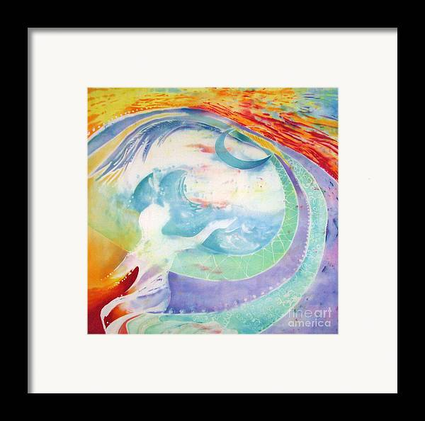 Spirituality Framed Print featuring the painting Beloved  by Anna Lisa Yoder