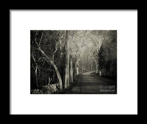 Ohio Framed Print featuring the photograph Bend In The Road 2 by Robert Gardner