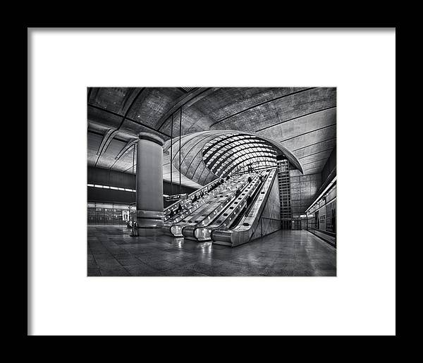 London Framed Print featuring the photograph Beneath The Surface Of Reality by Evelina Kremsdorf