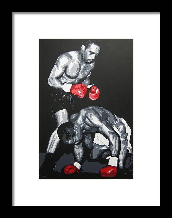 Benn Framed Print featuring the painting Benn 3 by Geo Thomson