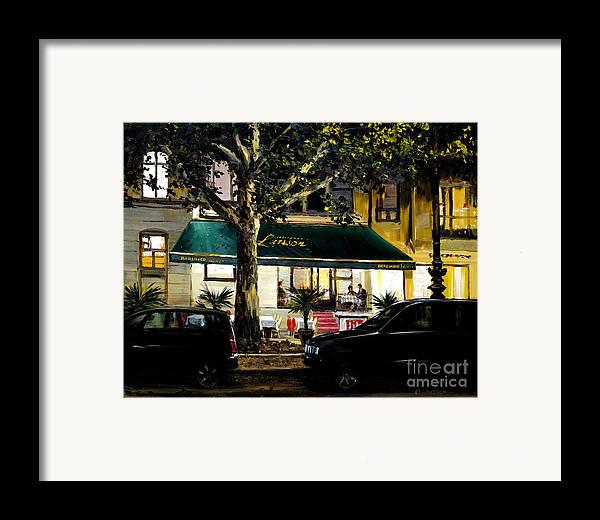 Berliner Pilsner Framed Print featuring the painting Berliner Pilsner by Michael Swanson