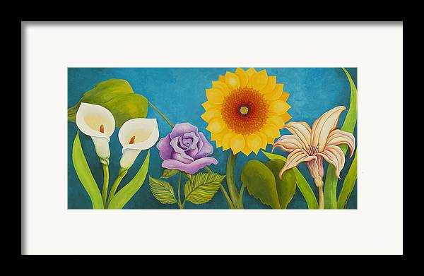 Art Framed Print featuring the painting Best Friends by Carol Sabo