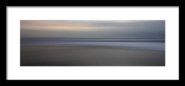Abstract Framed Print featuring the photograph Between by Catherine Lau