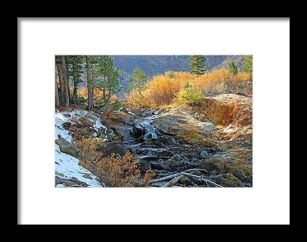 Fall Framed Print featuring the photograph Between The Virginias by Lynn Bauer