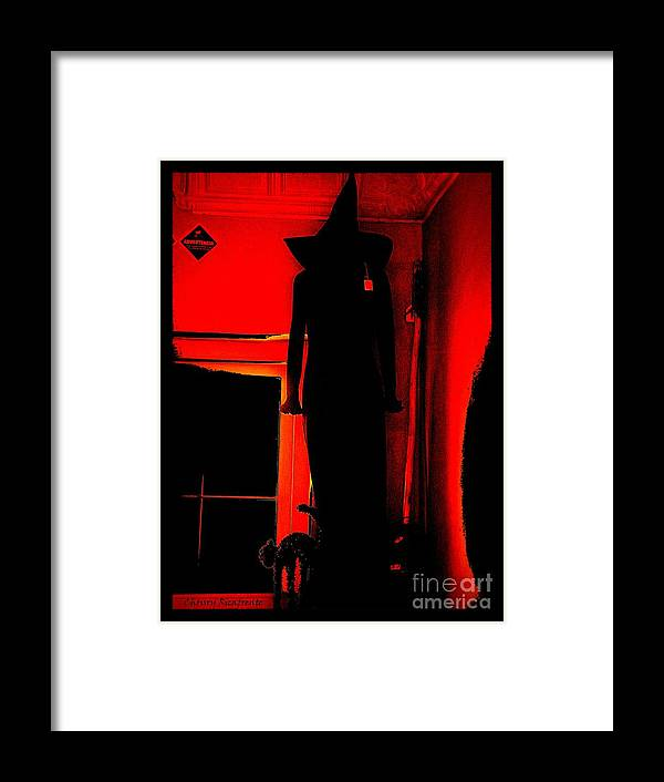 Costume Framed Print featuring the photograph Bewitched by Christy Ricafrente