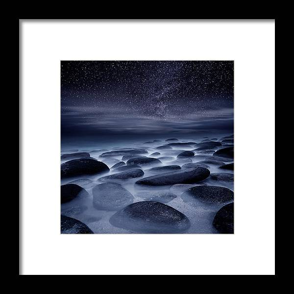 Night Framed Print featuring the photograph Beyond our Imagination by Jorge Maia