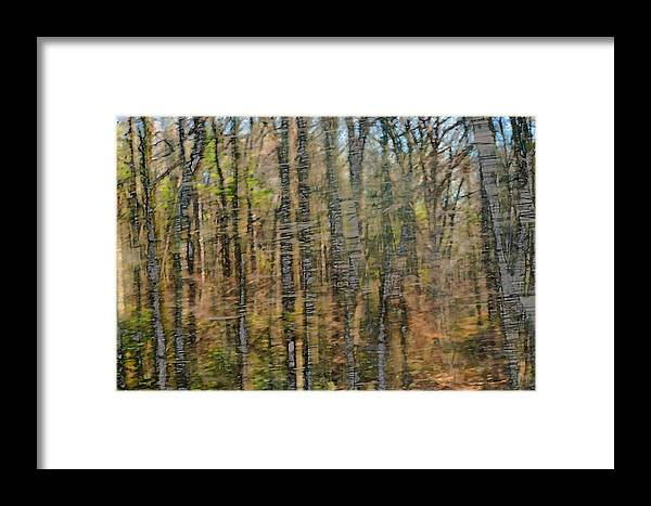 Abstract Impressionism Framed Print featuring the photograph Beyond Reality by Bill Morgenstern