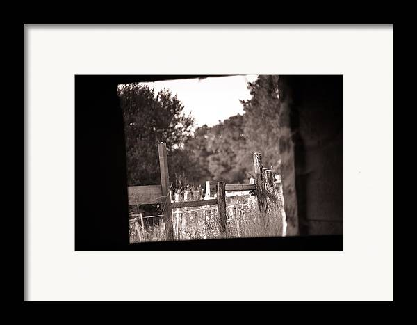 Loriental Framed Print featuring the photograph Beyond The Stable by Loriental Photography