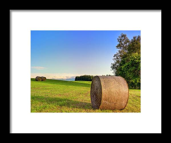 Tranquility Framed Print featuring the photograph Biei, Hokkaido Japan by Photo By Johnny Ngai