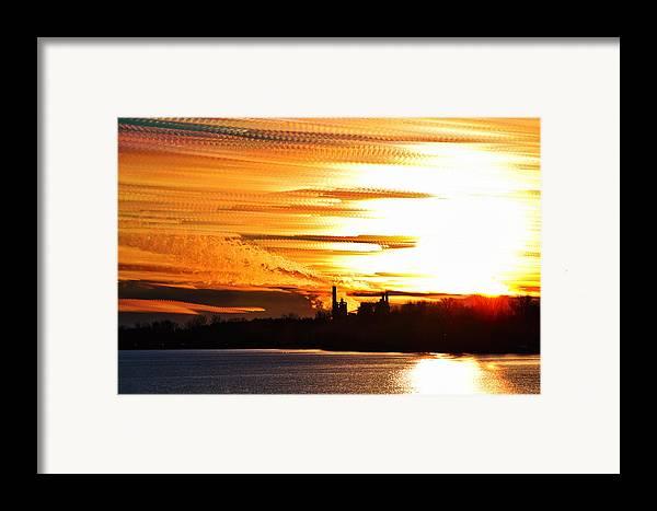 Matt Molloy Framed Print featuring the photograph Big Ball Of Fire by Matt Molloy