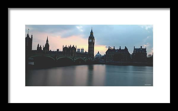 London Landscape Framed Print featuring the photograph Big Ben by Robert Furtado