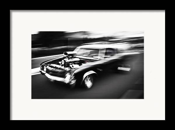 Chevrolet Chevelle Framed Print featuring the photograph Big Block Chevelle by Phil 'motography' Clark
