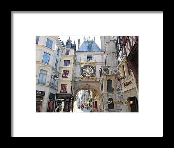 Clock Framed Print featuring the photograph Big Clock by Nerses Hatsakorzian