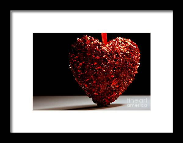 Romantic Framed Print featuring the photograph Big Heart by Robin Lynne Schwind