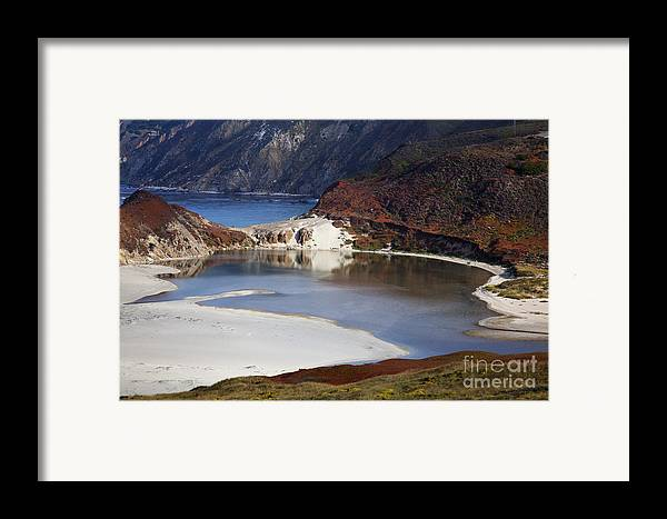 Beach Framed Print featuring the photograph Big Sur Coastal Pond by Jenna Szerlag