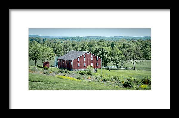American Civil War Framed Print featuring the photograph Bilgerville Road Farm 7d02271 by Guy Whiteley