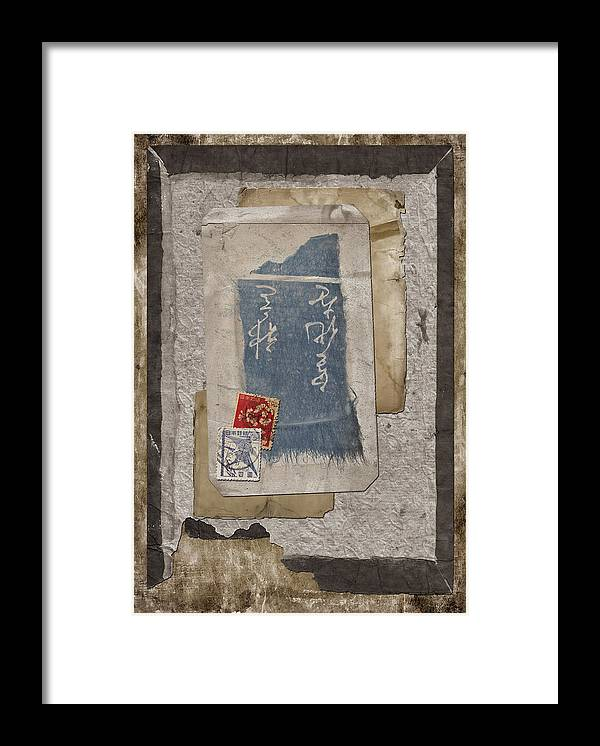 Paper Framed Print featuring the photograph Bits And Pieces by Carol Leigh