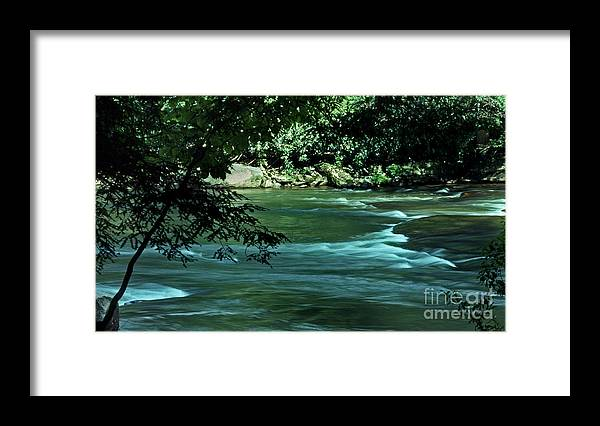 Scenic Tours Framed Print featuring the photograph Black River Nj by Skip Willits