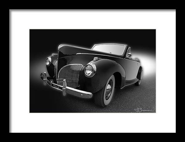 1941 Framed Print featuring the photograph Black Zephyr by Jim Bremer