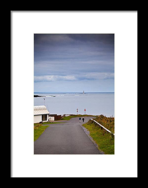 Photography Framed Print featuring the photograph Blackrock Lighthouse, Off Rosses Point by Panoramic Images