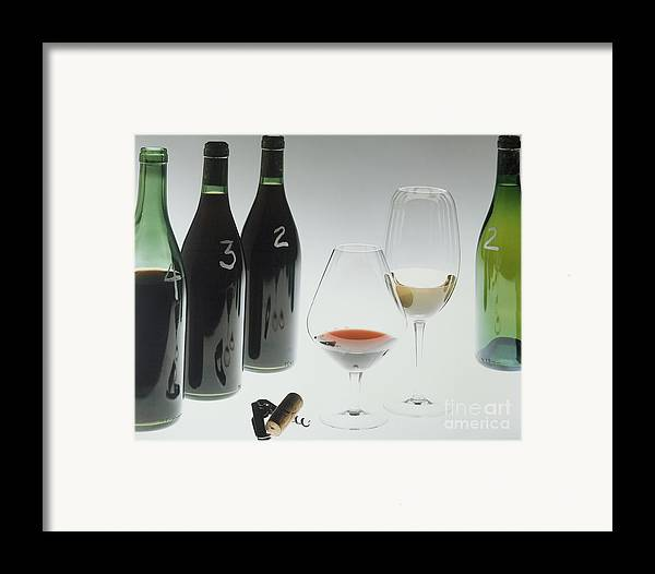 Wine Framed Print featuring the photograph Blind Taste Test by Jerry McElroy