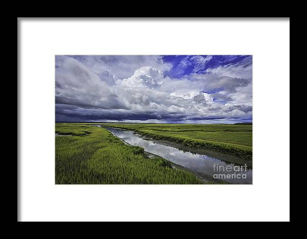 Landscape Framed Print featuring the photograph Bliss by Mina Isaac