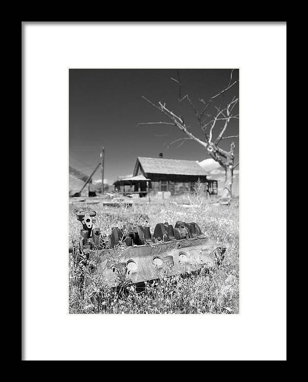 Chevy Framed Print featuring the photograph Block Buster by Everett Bowers