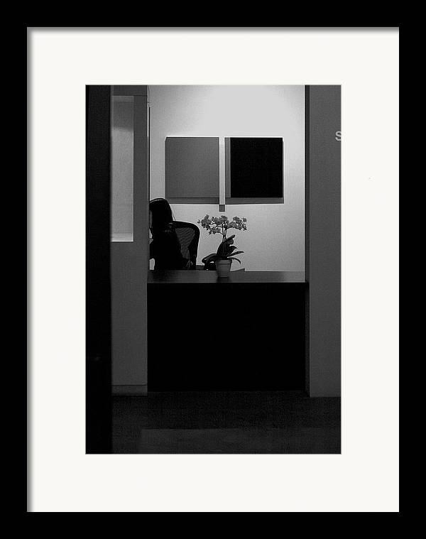 Blocked From View Of You Framed Print featuring the photograph Blocked From View Of You by Viktor Savchenko