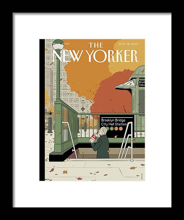 Last Straw Framed Print featuring the painting Last Straw by Adrian Tomine