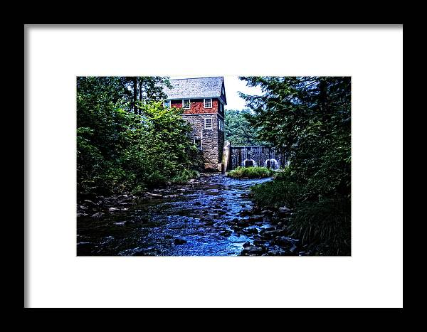 Mill Framed Print featuring the photograph Blow Me Down Mill by Mike Martin