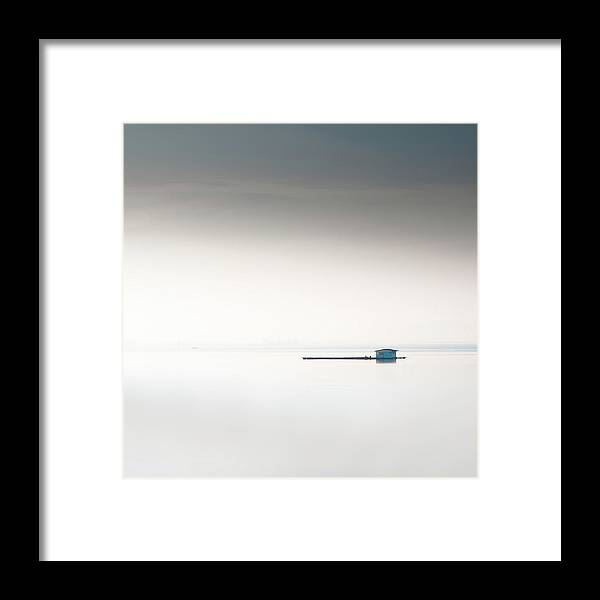 Tranquility Framed Print featuring the photograph Blue Kelong by Khairul Fitri Mohamad