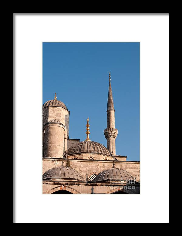 Istanbul Framed Print featuring the photograph Blue Mosque 02 by Rick Piper Photography