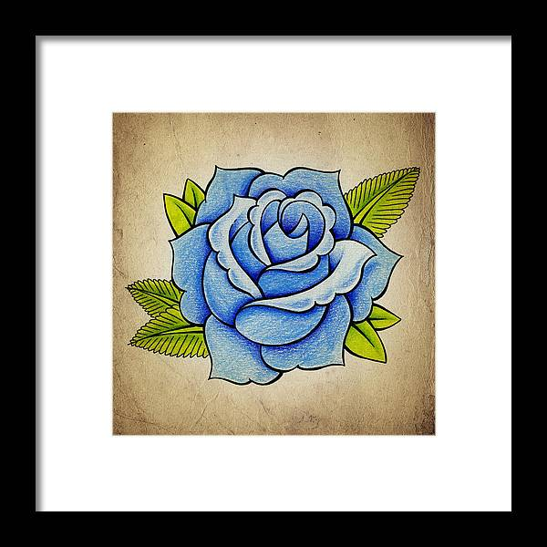 Blue Rose by Samuel Whitton