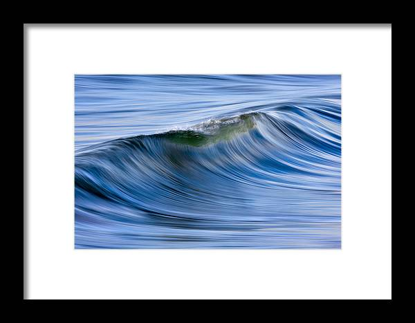 Orias Framed Print featuring the photograph Blue Wave #2 C6j6362 by David Orias