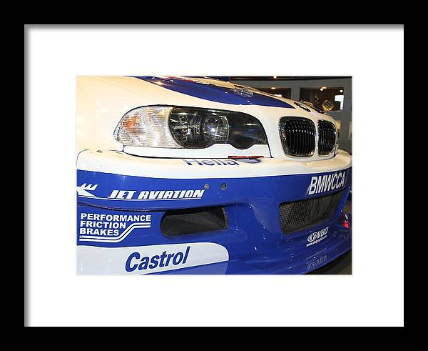 Cars Framed Print featuring the photograph BMW by Horst Duesterwald