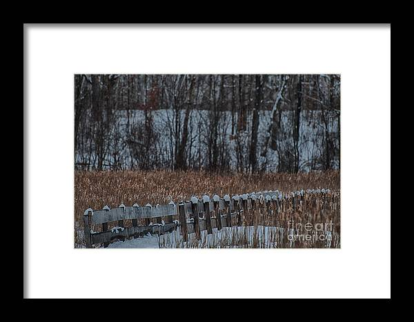 Boardwalk Framed Print featuring the photograph Boardwalk Series No2 by Bianca Nadeau
